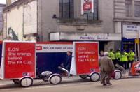 海外のエコ自転車広告導入事例:ヨーロッパの大手エネルギー会社エー・オン社(E.ON AG)