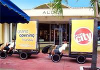 海外のエコ自転車広告導入事例:アメリカの大手家電量販店「サーキット・シティ」